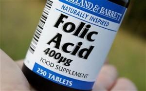 folic acid bottle