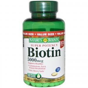 biotin bottle