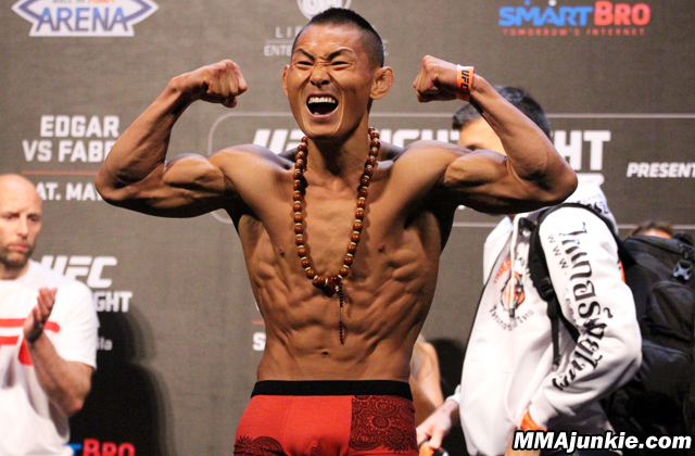 UFC Fighter Ning Guangyou Fails Drugs Test For Clenbuterol