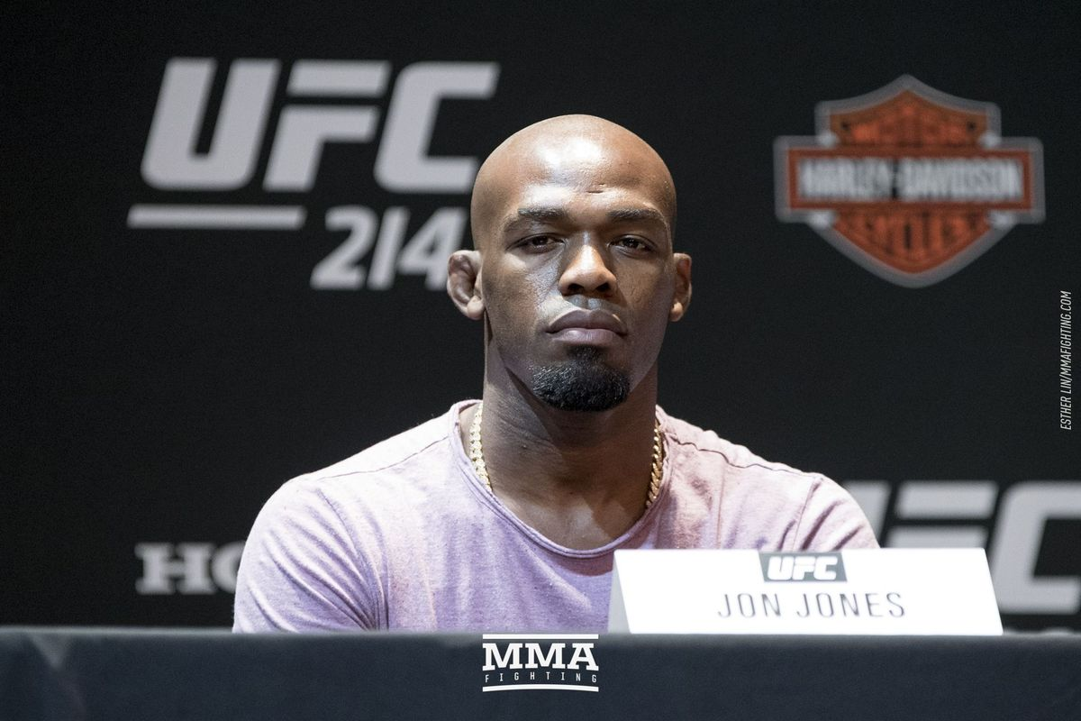 Jon Jones Gets Busted For Anabolic Steroids At Ufc 214