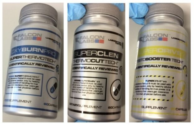 Falcon Labs supplements recalled by Irish government after