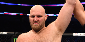 UFC heavyweight given suspension of two years after using TRT